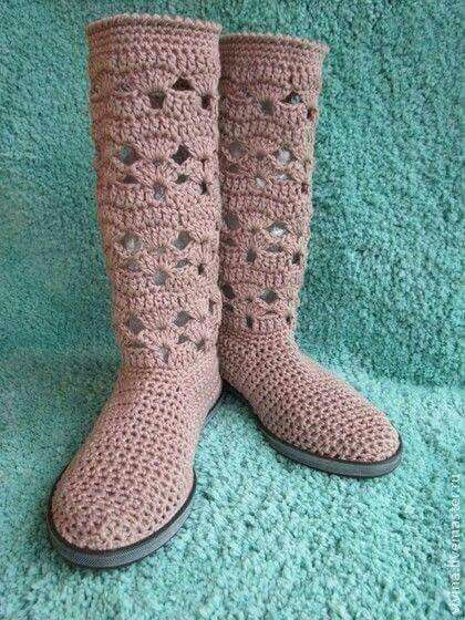 Resultado de imagen para polainas tejidas crochet dama