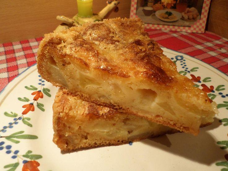 """RECETTE facile : Gâteau Pomme-Poire """"Tantine"""" à l'Ancienne"""