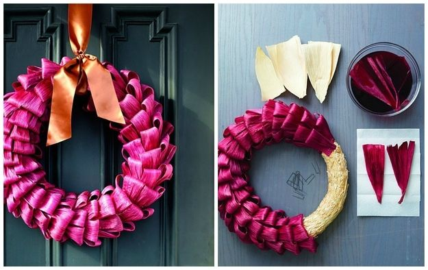 Corn Husks | 50 Unexpected Wreaths You Can Make Out Of Anything