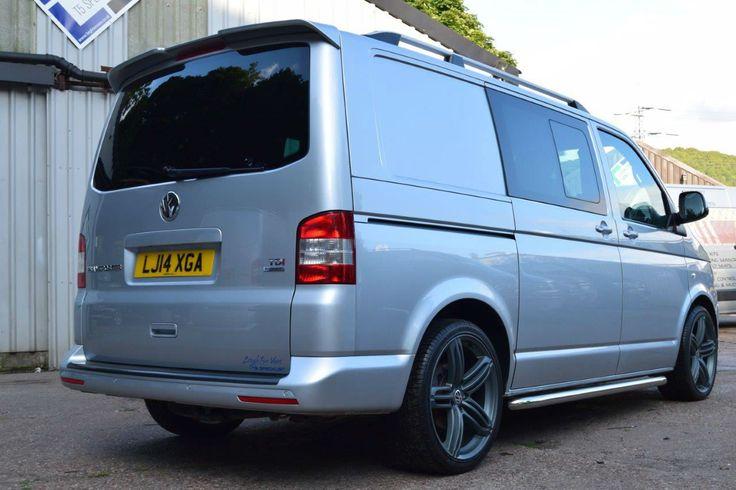 2014 14 VW Transporter T5 BlueMotion Factory Kombi Sportline Pack Twin Doors 140 | eBay