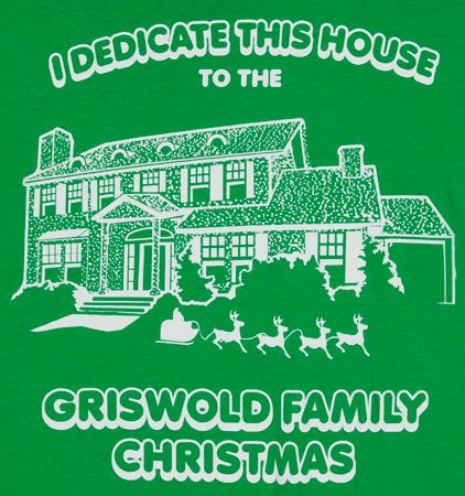 Family tradition each year to watch on Christmas day: Griswold Christmas Vacation