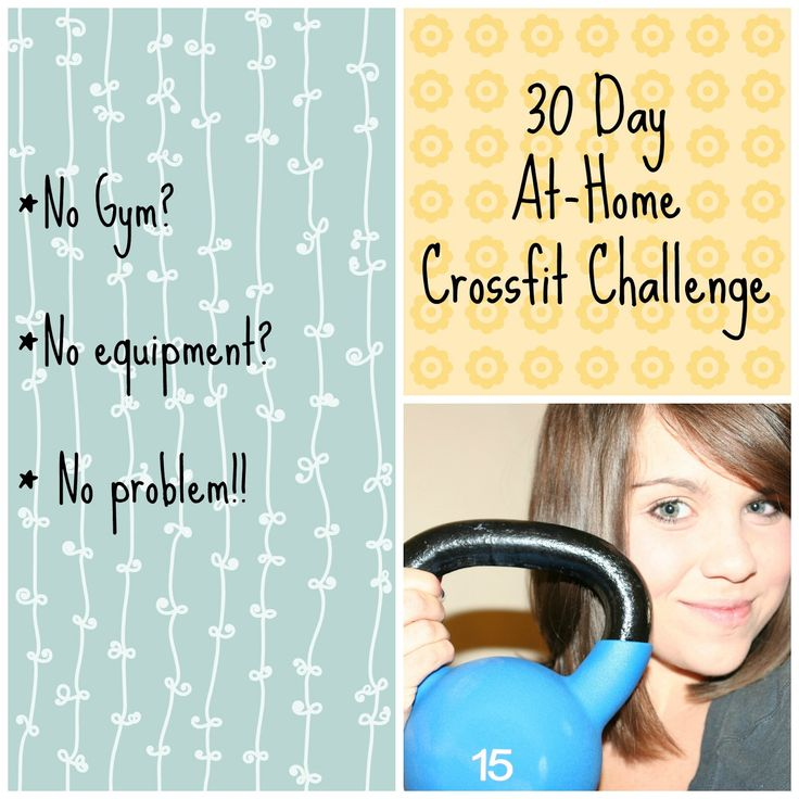 I decided I would share my 30 Day At-Home Crossfit Challenge with you in case anyone wants to join me..and this way I don't have to ...