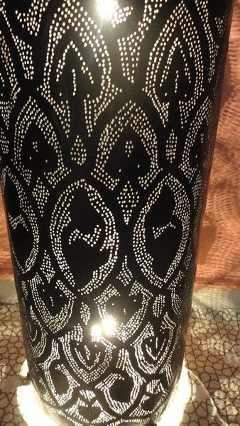 Black Oxidized Floor Lamp