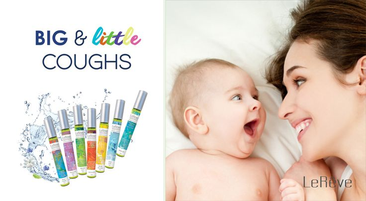 Le Reve Breathe Easy Essential Oil to reduce baby's cold and cough. Clear baby's airways and chest naturally with aromatherapy.