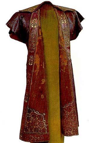 Leather coat    Turkish leather coat with applications. Magyar Nemzeti Muzeum