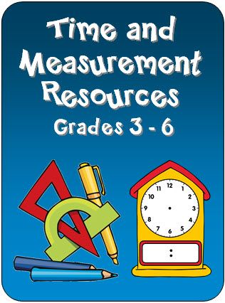 Laura Candler's Time and Measurement Resources - Free printables and other helpful resources for teaching time and measurement