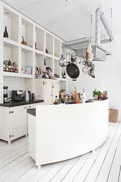 Semicircle #kitchen: Decor, Design Ideas, Interiors, Kitchen Inspiration, Kitchen Design, Dining, Kitchen Ideas, Photo, White Kitchens
