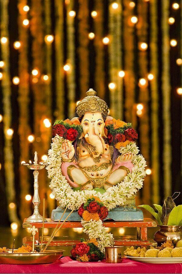 home decoration ideas for ganesh chaturthi 103 best indian pooja room and festivals images on 13418