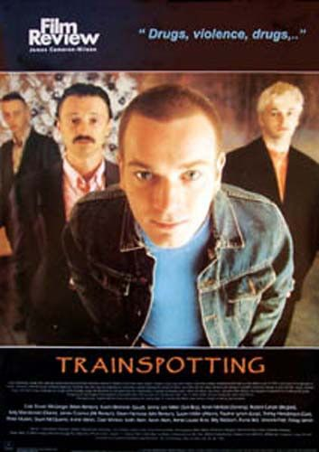 A great poster from the Film Review series featuring a synopsis and cast/crew info for Danny Boyle's 1996 film Trainspotting, adapted from Irvine Welsh's novel! Ships fast. 24x34 inches. Check out the
