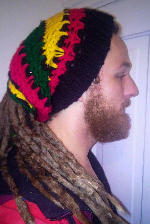 Rasta Dread Tube Hat Crochet Pattern Dreadlock Hat Rasta Tam