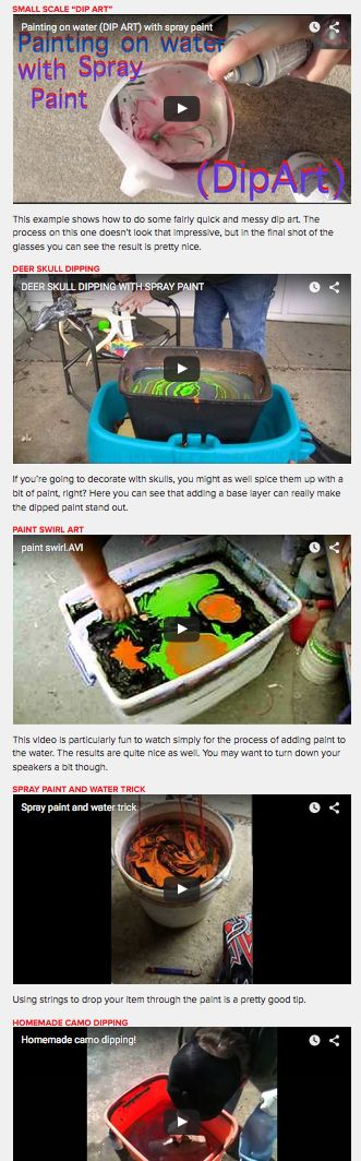 1000+ images about Paint dipping on Pinterest | Sprays, Diy videos and ...