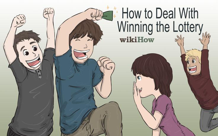 How to Deal With Winning the Lottery -- via wikiHow.com