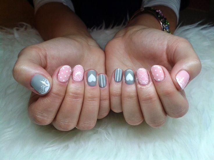 Semilac 056 Pink Smile Semilac 105 Stylish Gray Semilac 001 Strong White