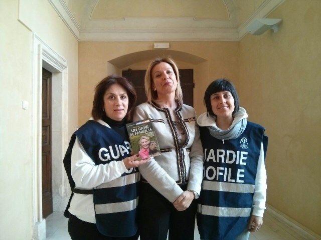 Le #GZV della #LNDC di #LAquila con #MariaLuisaCocozza #TG5 #LArcadiNoè