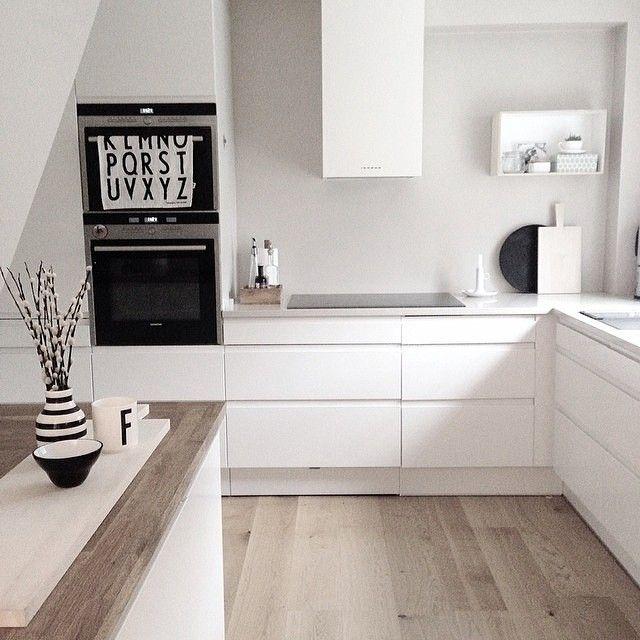 Weiße Küche Wandfarbe | Ein Sanftes Braun Beige Als Wandfarbe Lasst Die Weisse Kuche Leuchten