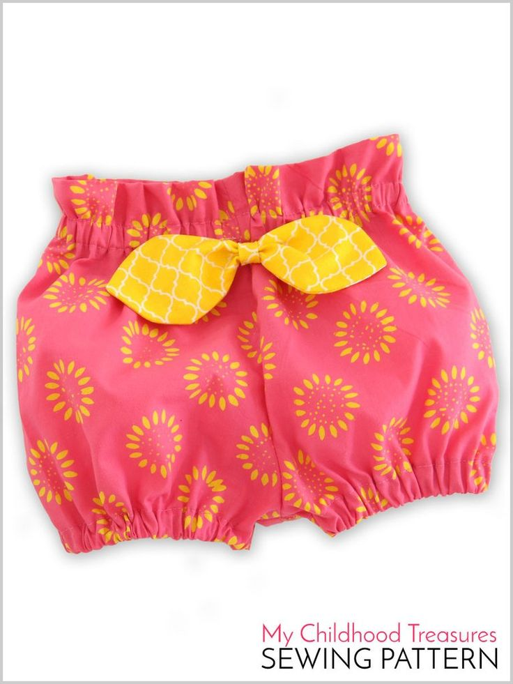 Becca Bloomers High Waist Bloomer Pattern Sewing For