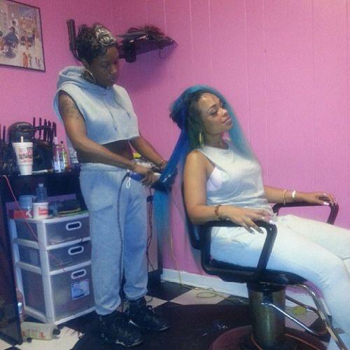 Getting hair done or watever | Helloooo Heather Sanders ... Heather Sanders Hotyella817