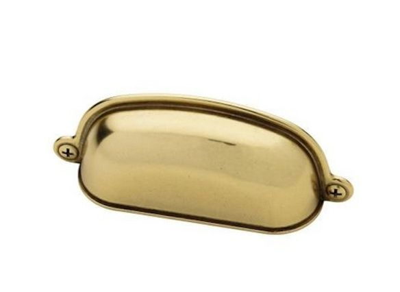 3 in. Bedford Canopy Cup Cabinet Hardware Pull