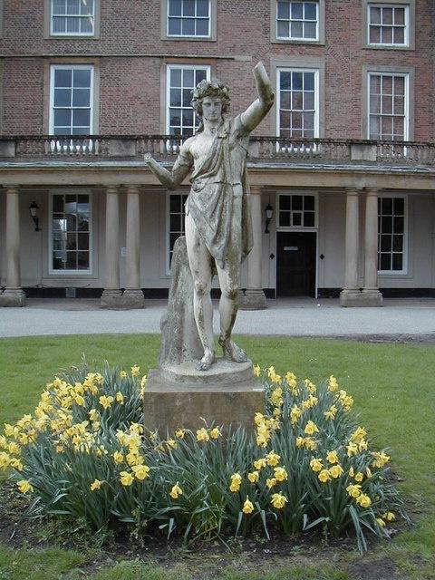 'Bacchus' at Clifton Hall, Nottinghamshire circa 1999