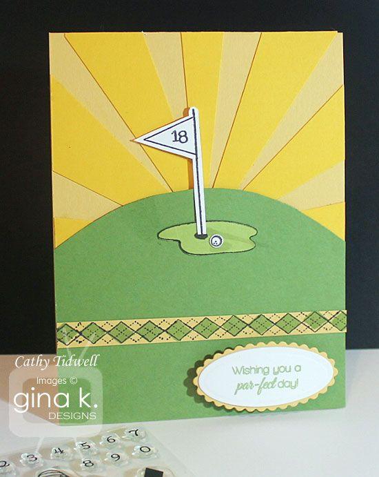 This uses Debbie's newest diva, Golfing Diva.