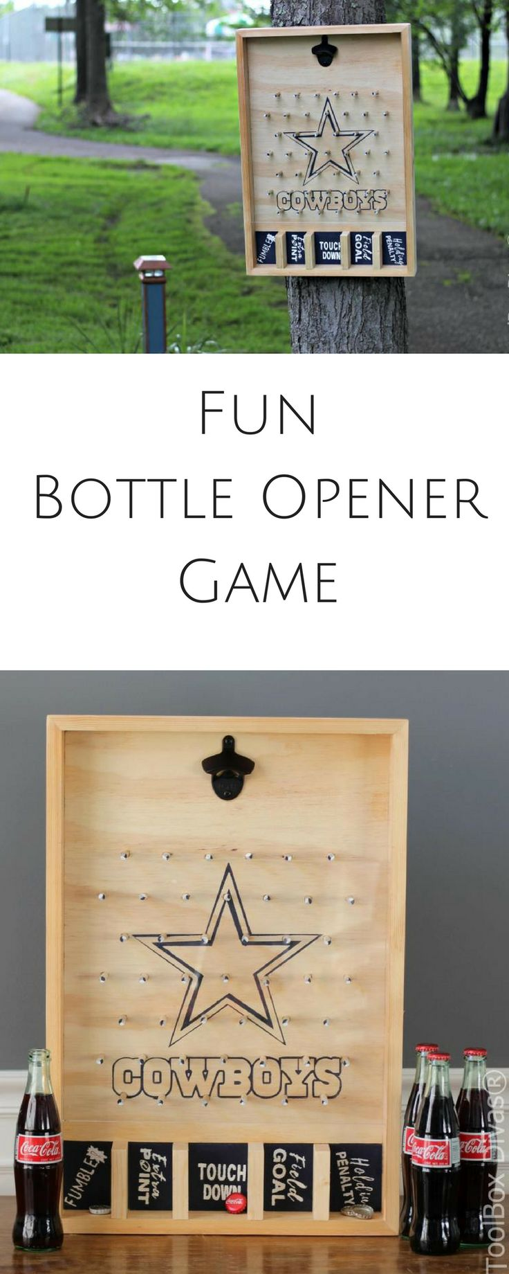 Better than yankees game is a wall mounted bottle opener game. And support your ...