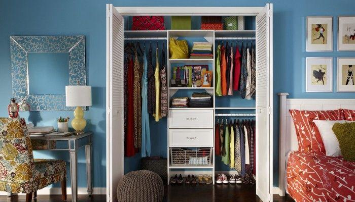 teen closet storage