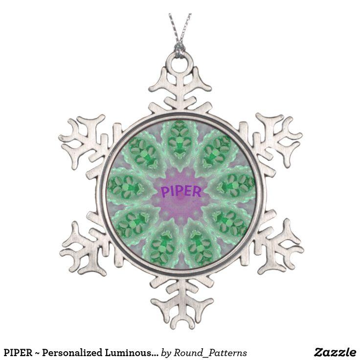 PIPER ~ Personalized Luminous Christmas Fractal ~