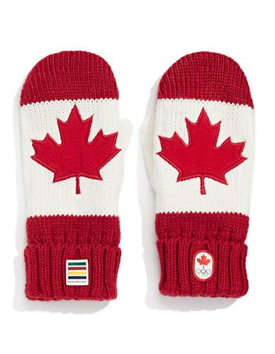 Olympic | Canadian Olympic Team Collection | Adult Red Mittens | Hudson's Bay