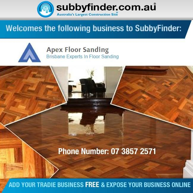 It's FREE to register your Tradie business on Subbyfinder.com.au Building your SubbyFinder profile is quick and easy. Fill out your industry experiences, industry type and any other forms of expertise in your industry. #subbyfinder #tradie #tradies #apexfloorsanding