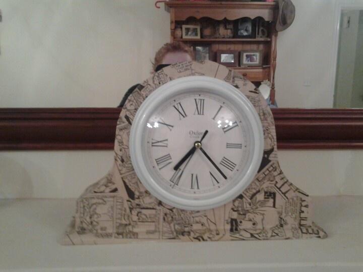 My new beano mantel clock. X