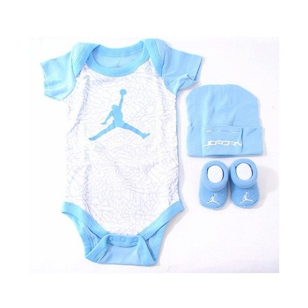 Jordan Outfits for Baby Girls submited images | Pic 2 Fly ❤ liked on Polyvore