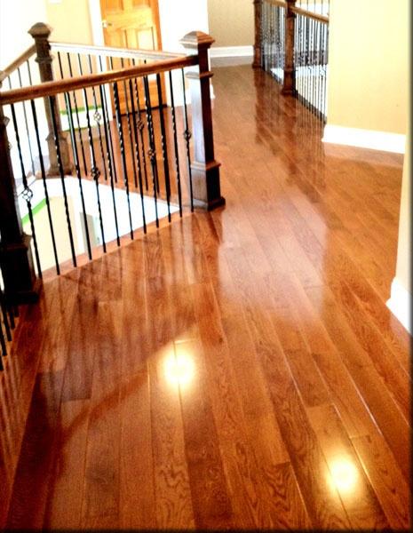 Red Oak Warm Walnut Stain Hardwood Floor Colors Wood