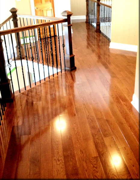 Red Oak With Warm Walnut Stain Red Oak Pinterest