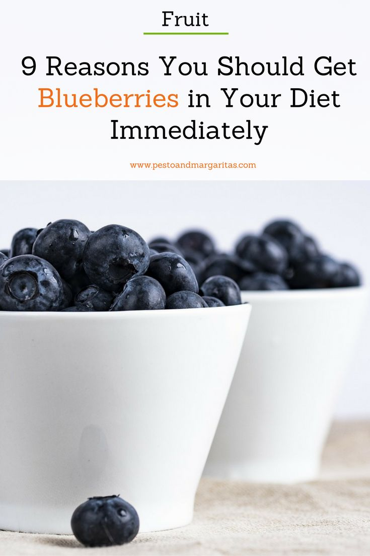 Blueberries are often labelled as superfoods but there are a clear number of reasons why we should include them in our diets in a variety of ways - here at 9 of them http://pestoandmargaritas.com/9-reasons-blueberries-diet/