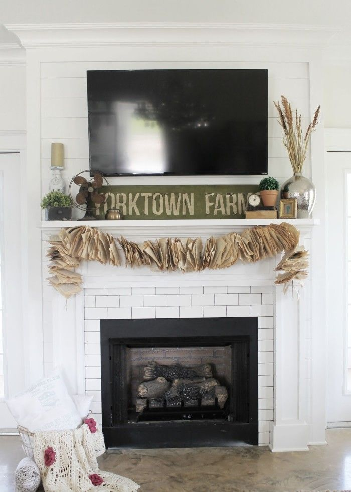 103 best images about sugarberry cottage on pinterest for Modern farmhouse fireplace