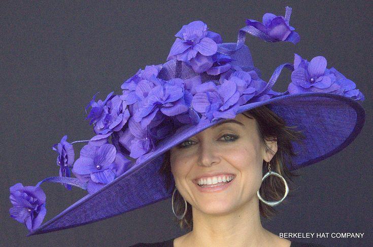 pictures of derby hats | item purple majesty sinamay kentucky derby hat lea 52145 $ 169 00 ...