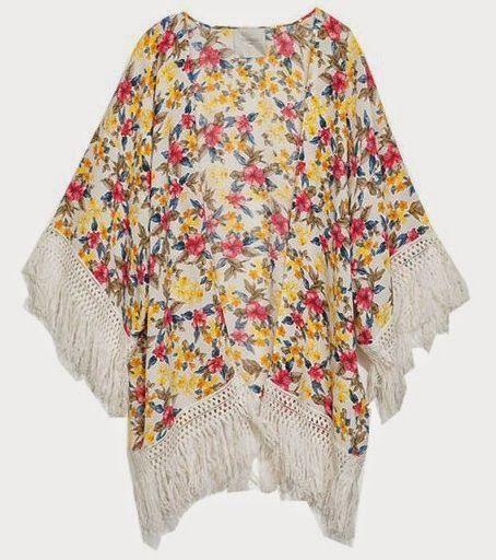 Tendencias: Kimono con flecos, una prenda única para dar estilo a tu look #RedFacilisimo
