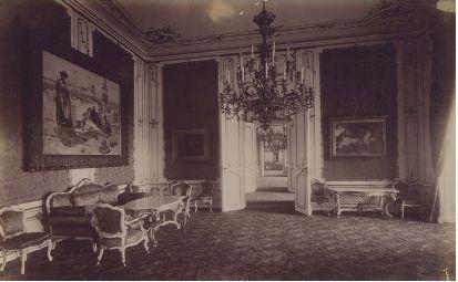 The Smoking Salon, former bedchamber of Queen Maria Theresa