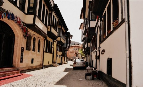 Kütahya old homes.