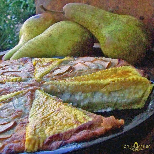 Gourmandia: Torta di pere e gorgonzola al miele