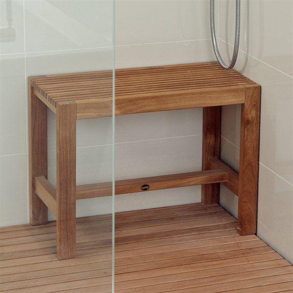 arb teak u0026 specialties ben53 teak shower bench