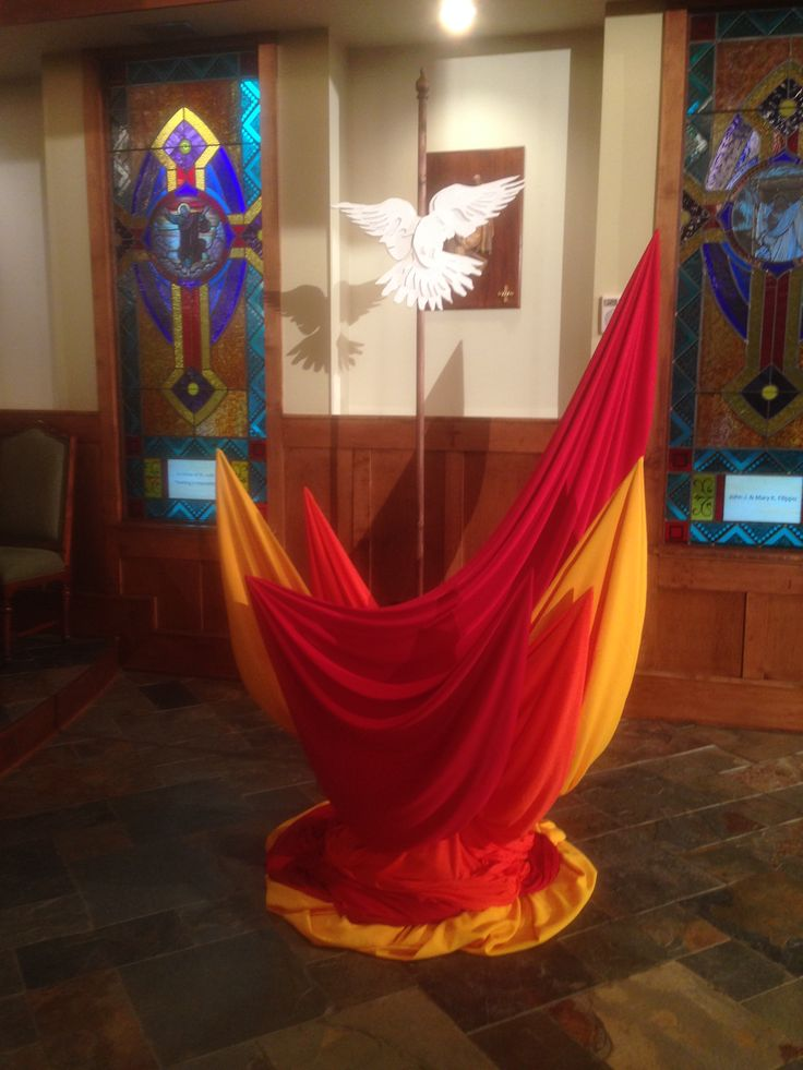 Pentecost Saint Joseph Catholic Church Banners And