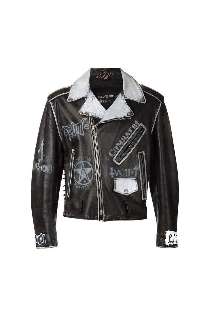 Leather jacket diy -  Enfants Riches Deprimes 01 Clothing 07 Outerwear 01 Jacket 02 Leather