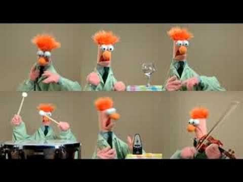 Ode To Joy as only Beaker can do ~!~