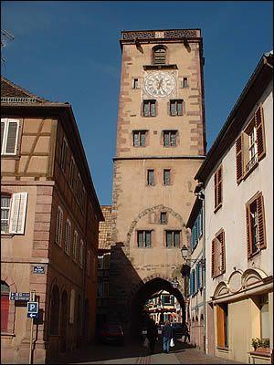 Ribeauvillé ~ Alsace ~ Haut-Rhine ~ France ~ La Tour des Bouchers