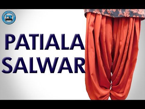 Patiala Salwar - Cutting and Stitching (Step by Step) | BST - YouTube