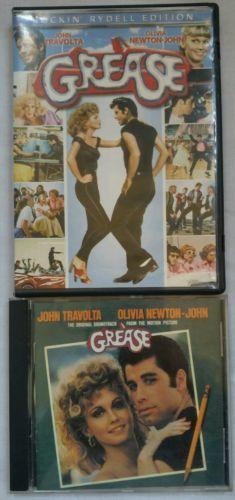 Grease-DVD-amp-Grease-CD-Soundtrack-Bundle-John-Travolta-Olivia-Newton-John