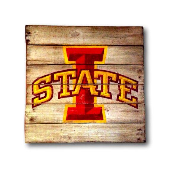 Iowa State University Wall Hanging / Iowa State Cyclones Sign