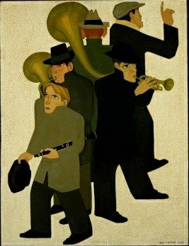 Johan van Hell - 'Straatmuzikanten' (1930)