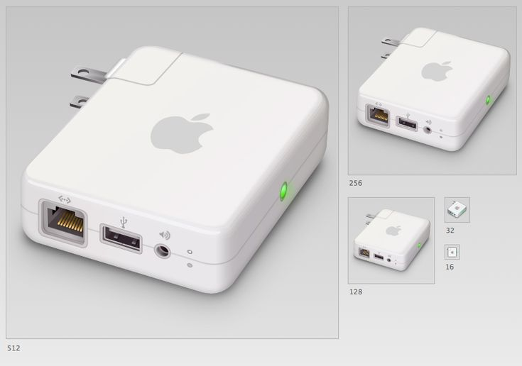Airport Express - 1 icon by DDrDark